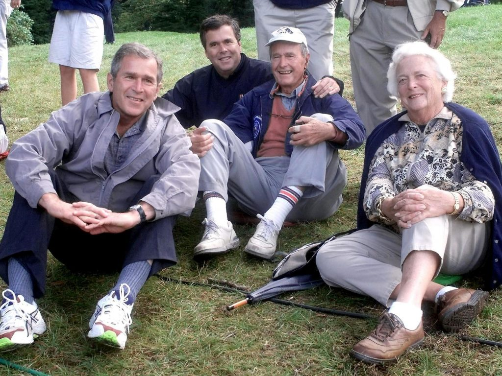 The Bush Clan opens a 'second front' against Donald Trump.
