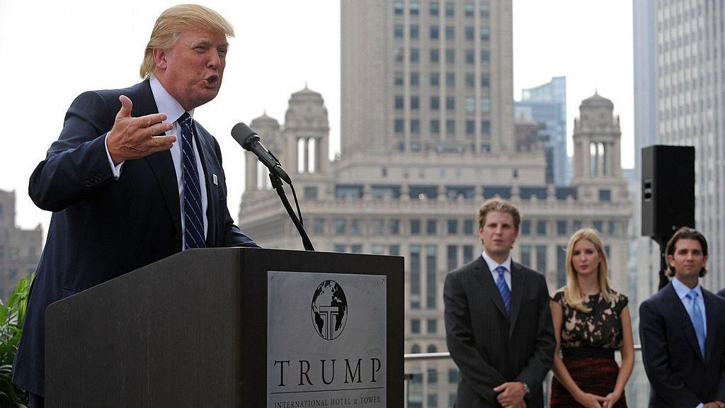 donald trump - CHICAGO