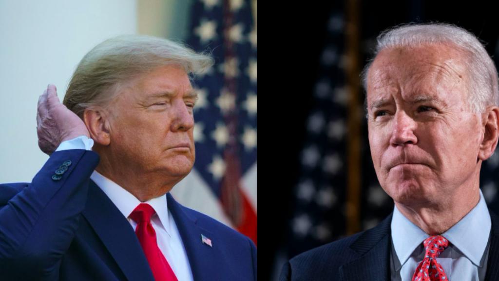 Joe Biden Donald Trump 2020