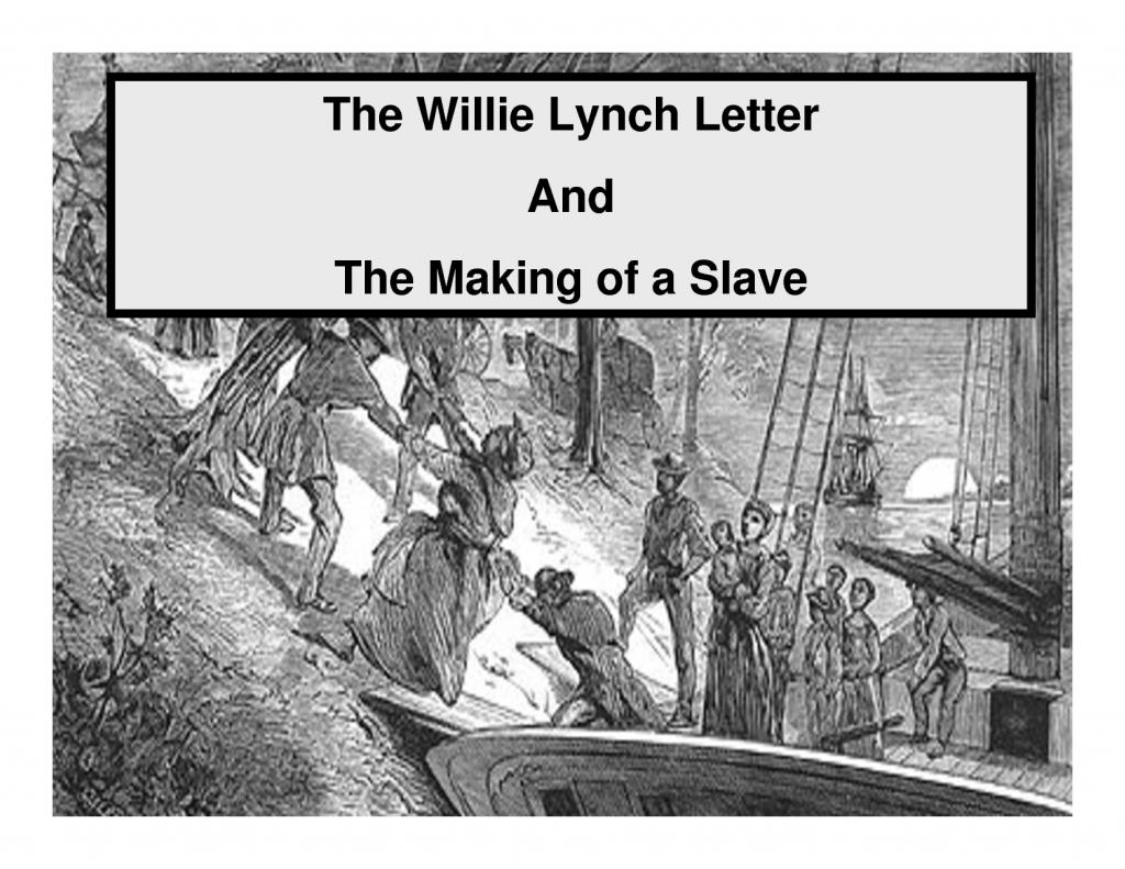 WillieLynch-TheMakingOfASlave