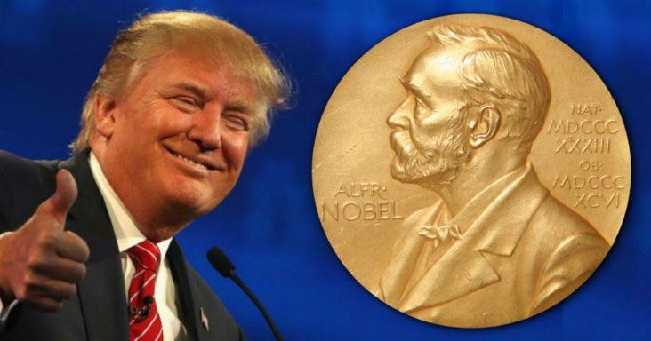 Nobel Peace Prize - Donald Trump