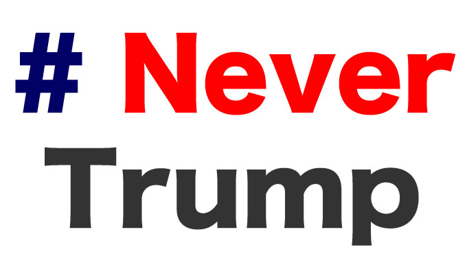 Never Trump - Donald Trump