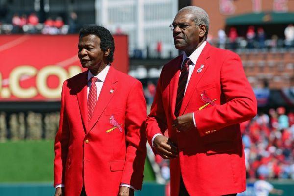 Bob Gibson & Lou Brock