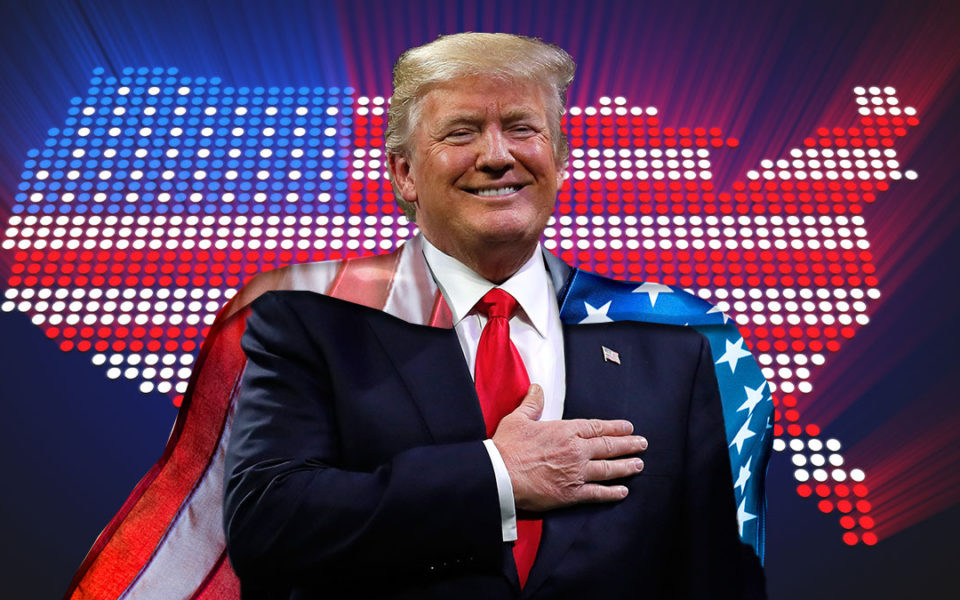Donald Trump The great one president