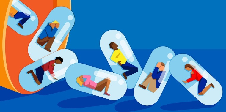 people-trapped-inside-pill-capsules-opioid-abuse