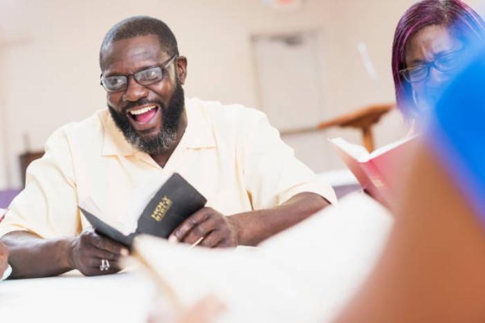 Black man - bible study 2021