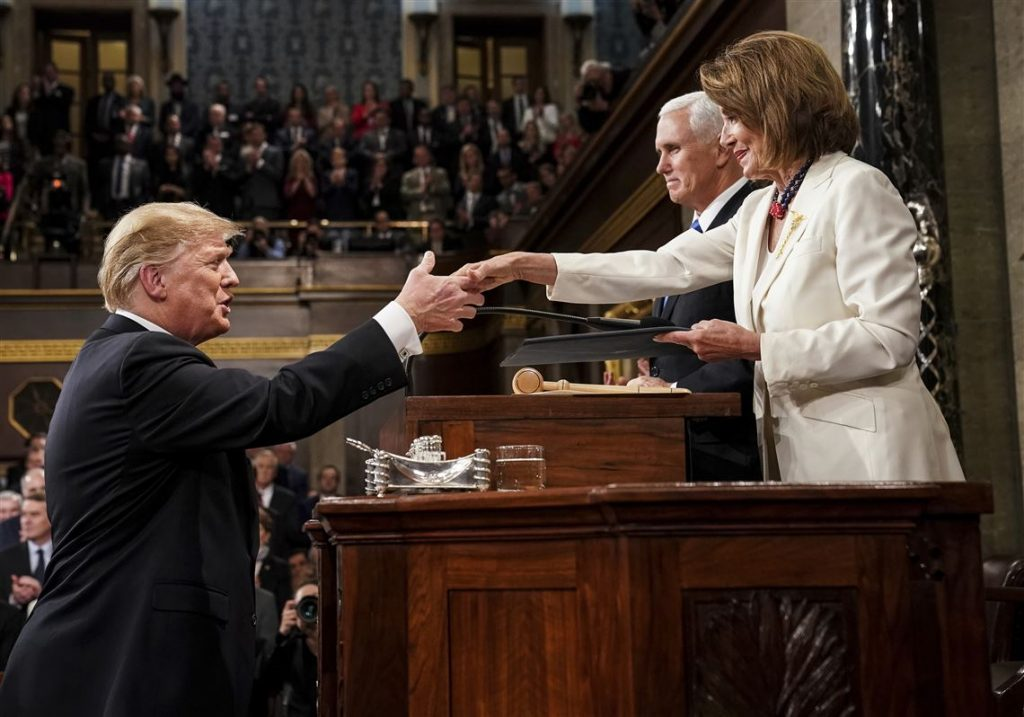 donald trump - NANCY PELOSI 2021