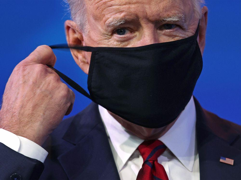 joe biden covid mask