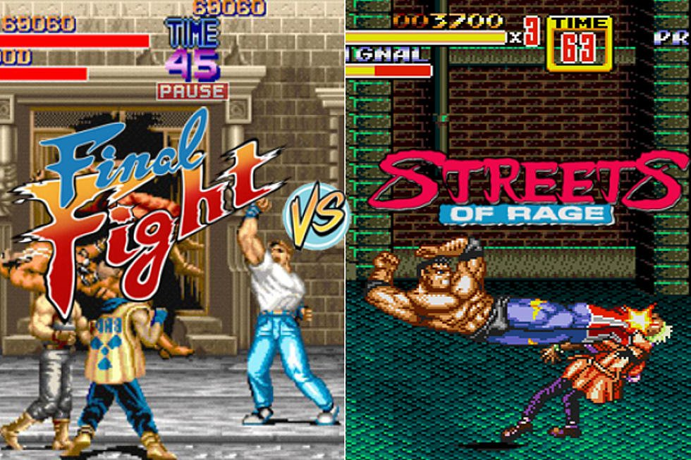 Final Fight vs. Streets of Rage
