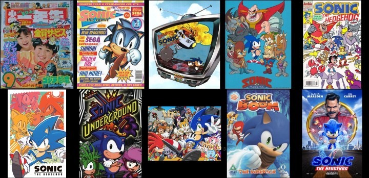 Sonic the Hedgehog spinoffs