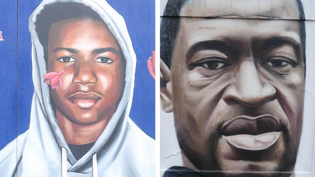 trayvon martin george floyd 2021