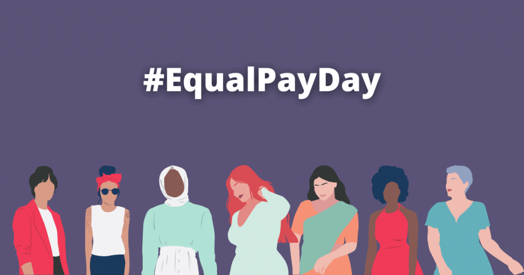 Equal Pay Day; Lives Are Depending On It.