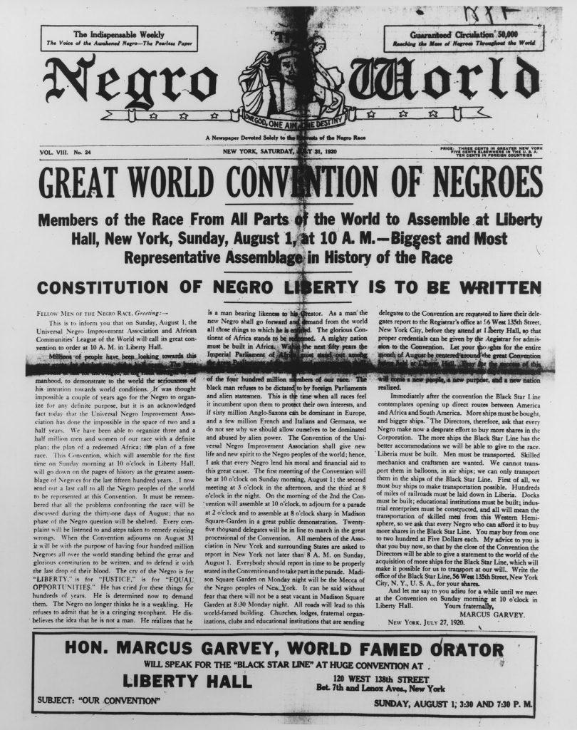 NegroWorld-July31-1920