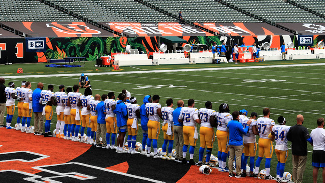 NFL; A Time and Place for 'Lift Every Voice and Sing'.