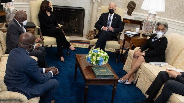 Biden, Democrats, and the Congressional Black Caucus (CBC)